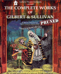 poster for The Complete Works of Gilbert and Sullivan, pruned.