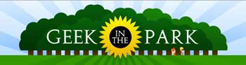 Geek In the Park logo